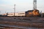 BNSF 6893 w/AOE Coaches