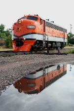 Reflections of Royal Gorge 402