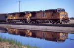 Reflections of UP 5973/8291