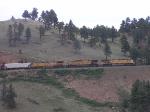 Leaving Coal Creek Canyon