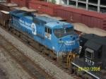Closeup of ex Conrail 8425