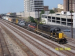 WAMX 4115 leads CSX train 522 (Watco Tuscaloosa, Al - CSX Boyles yard)