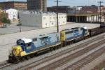 CSX 2311 leads local train M719