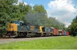 NS 11R With CSX 786 in lead!