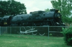 "Chesapeake and Ohio Railway (CO) Lima ""Berkshire"" 2-8-4 Steam Locomotive No. 2756 on display"