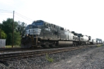 NS 9458 with stacks