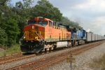 BNSF 5670 is on FEPX empties