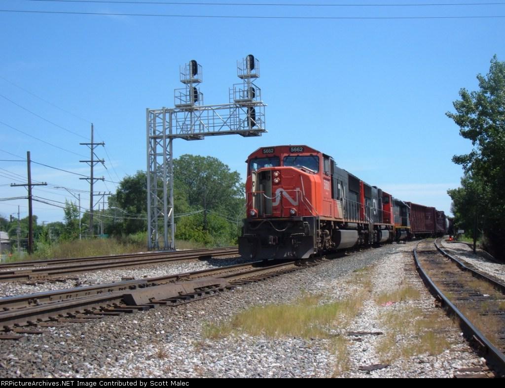 CN 5662, 5672 & GCFX 6065