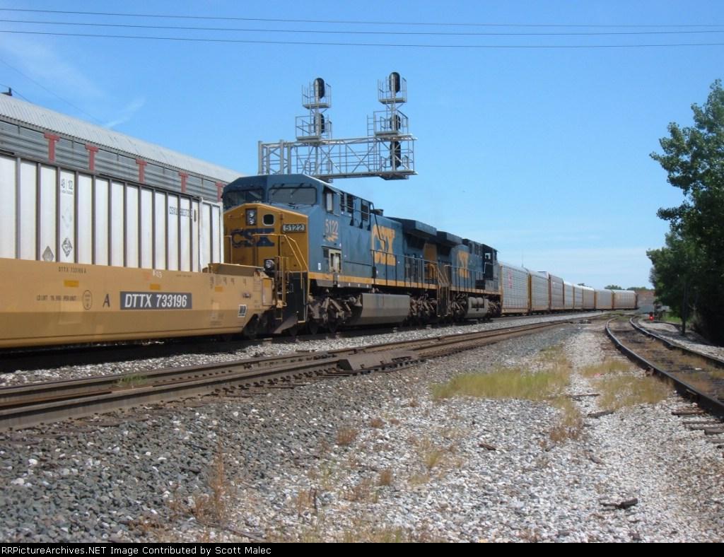 CSX 5101 & 5122