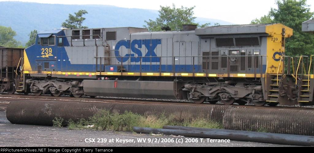 CSX 239 at Keyser, WV