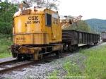 CSX Burro Crane 9511