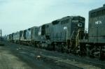 Massachusetts Bay Transportation Authority EMD GP9 No. 7539
