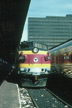 Massachusetts Bay Transportation Authority Rebuilt EMD FP10 No. 1103