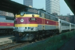 Massachusetts Bay Transportation Authority Rebuilt EMD FP10 No. 1110