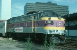 Massachusetts Bay Transportation Authority (MBTA) EMD FP10 No. 1110