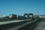 Massachusetts Bay Transportation Authority (MBTA) Commuter Train led by EMD FP10 No. 1100