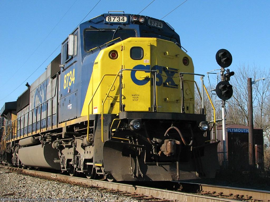 CSX 8734 Q190
