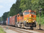 BNSF power on NS 38G