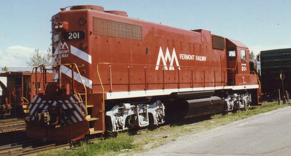 VTR 201 GP38AC 1988