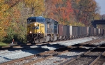 CSXT 227 (AC44CW) & CSXT 4741 (SD70MAC) on the Old Main Line