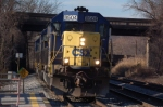 K943, the rock runner with CSXT 8504 (SD50) ex SBD 8504 (SD50)