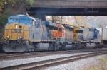 CSXT 5298 (ES44DC), BNSF 8060(SD40-2) & CSXT 612 (AC60CW)