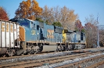CSXT 432(AC44CW) & CSXT 4784 (SD70MAC) on the old main line