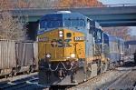 CSXT 5314(ES44DC) & CSXT 6025(GP40-2) ex BO 4125(GP40-2) lead the Geometry Train