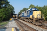 CSXT 8514(SD50) ex SBD 8514 (SD50), CSXT 8518 (SD50) ex SBD 8518 (SD50) & CSXT 8519(SD50) ex SBD 8519 (SD50) on the rock runner