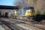CSXT 248(AC44CW) & CSXT 302(AC44CW) on the old main line