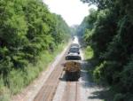 CSX Q261 at Georgetown Junction