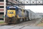CSX B765 - Montgomery County's trash train