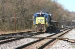 A very small ballast train