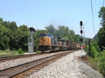 CSX Q414 at Peachers Mill signal