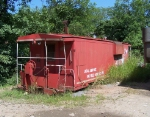 MP Caboose in McCoy's Scrap Yard