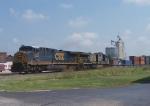 Westbound CSX Intermodal