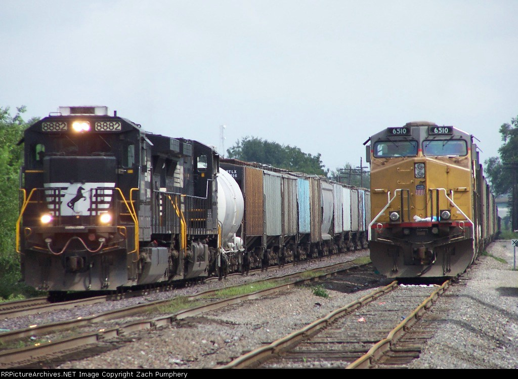 Southbound Manifest and Loaded Coal