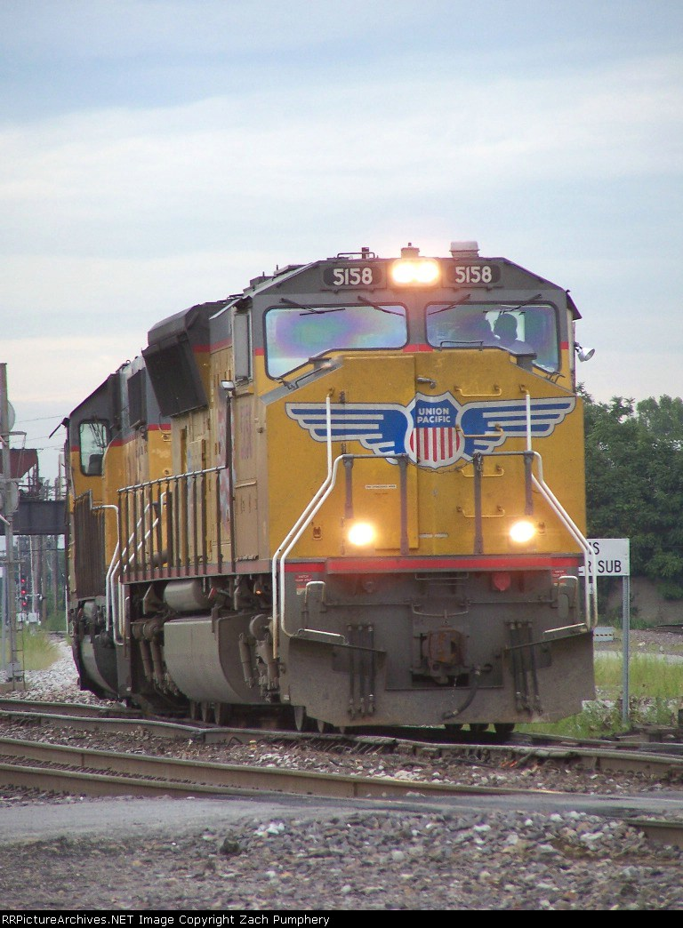 Southbound Light Engines