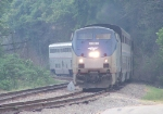 Northbound Amtrak Texas Eagle Train #22