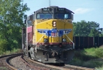 Northbound Empty Coal Train DPU's