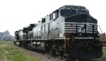NS 9767 sits at the Kinder-Morgan plant