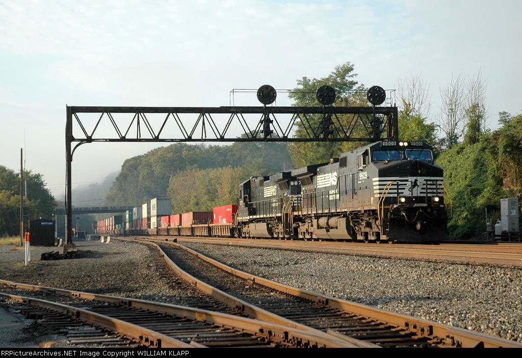 NS 9509 Stack train
