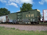 CNW Box Car