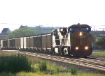 Eastbound Loaded Coal Train Ex-CNW UP 6716 AC4400CW