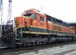 BNSF 6312 SD40