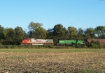 Northbound BNSF Empty Grain Train With a Warbonnet BNSF 790 C44-9W
