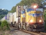 Southbound Intermodal Under Threatening Skies