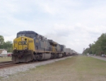 CSX 5001 heading north