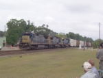 CSX 7612 on Q141 heading south