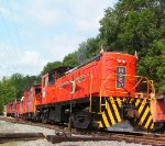 M&E 21 Caboose Train at Whippany